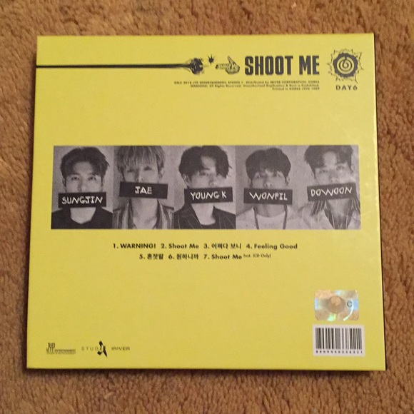 KPOP ALBUM Other | Day6 Shoot Me Album | Poshmark